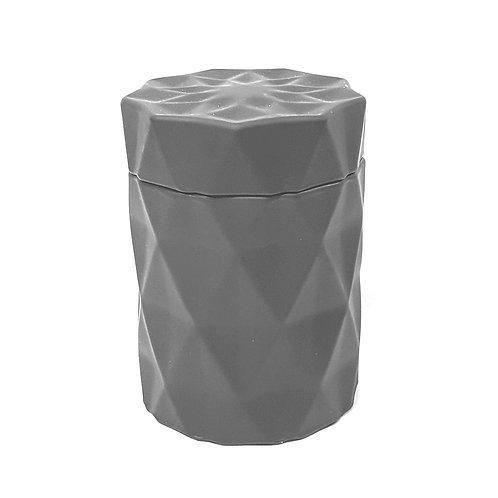 Qarat nero Bio Sojawachs Vegan Design Kerze by EQUINOX schwarzes glass kerzen kaufen schweiz luxus hochwertig