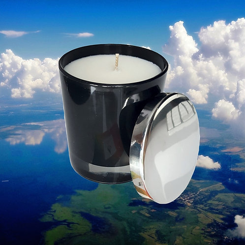Luft Black - Aromatherapie Bio Duftkerze