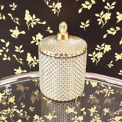 Memphis Gold Bio Sojawachs Vegan Kerze by EQUINOX goldig glass kerzen kaufen schweiz luxus hochwertig