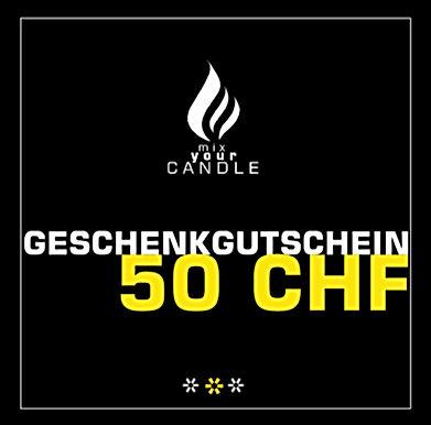 50 CHF Geschenkgutschein