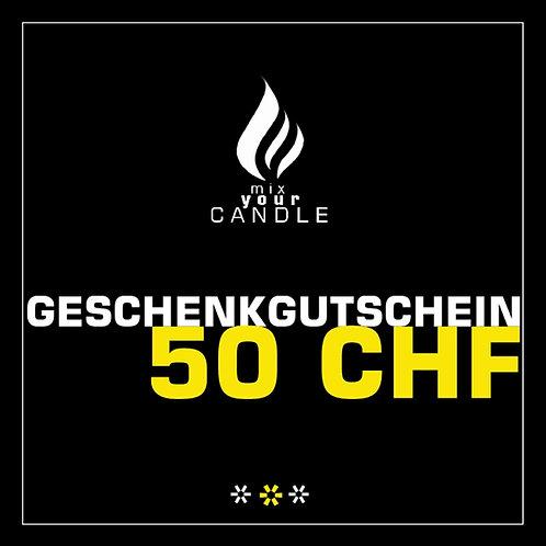50 CHF_Geschenkgutschein_Kerze_mixyourcandle