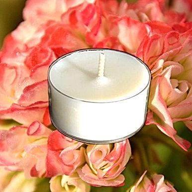 Bio Duft-Teelichter Rosengarten