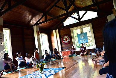 retiro de yoga e meditação em julho