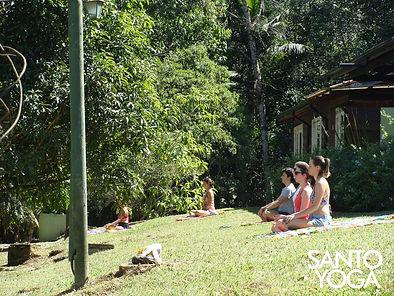 yoga, meditação e alimentação saudavel