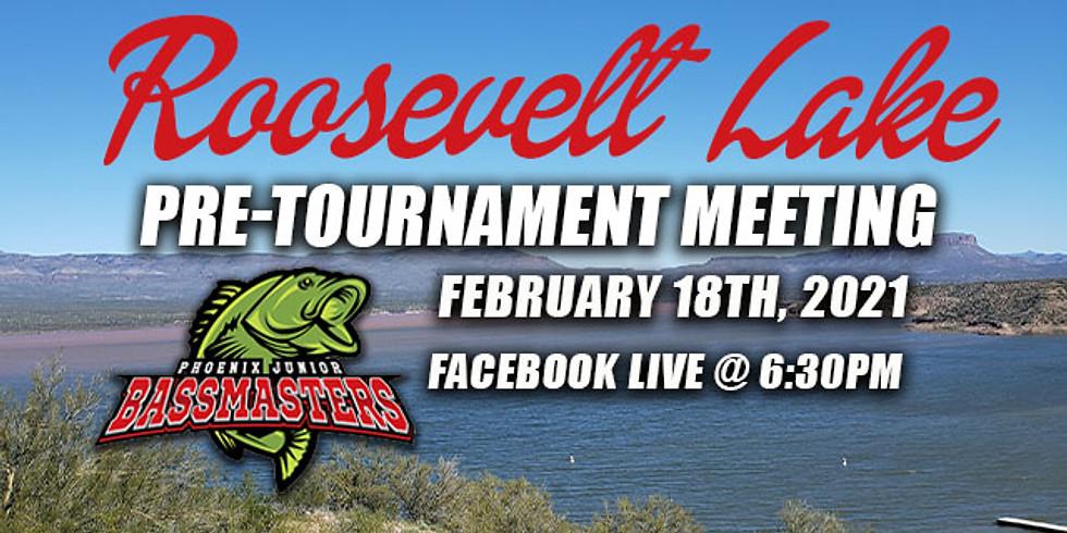 Roosevelt Lake Pre-Tournament Meeting