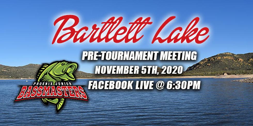 Bartlett Lake Pre-Tournament Meeting