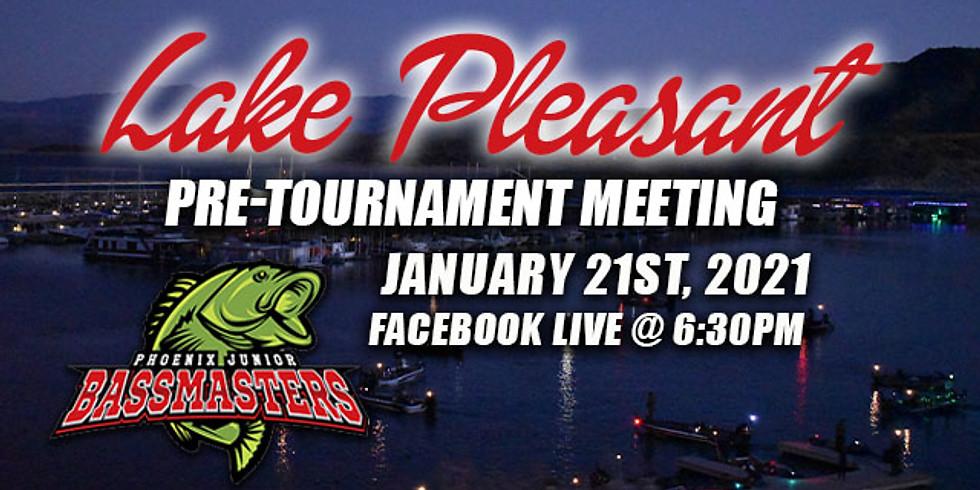 Lake Pleasant Pre-Tournament Meeting
