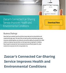 Zazcar's Connected Car-Sharing Service I