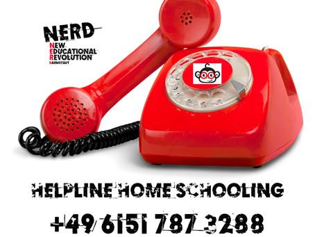 Das NERD Phone ist LIVE.  HOME SCHOOLING- aber wie?