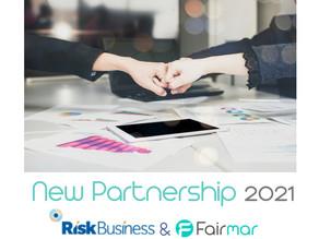 RiskBusiness & Fairmar Consulting GmbH announces partnership as they enter 2021