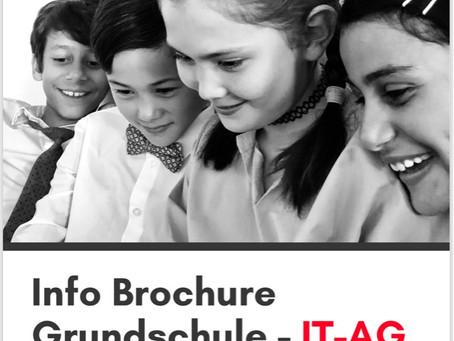 Unsere Brochure für die Grundschulen ist fertig