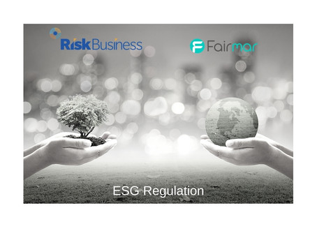 ESG Regulation - what you need to know