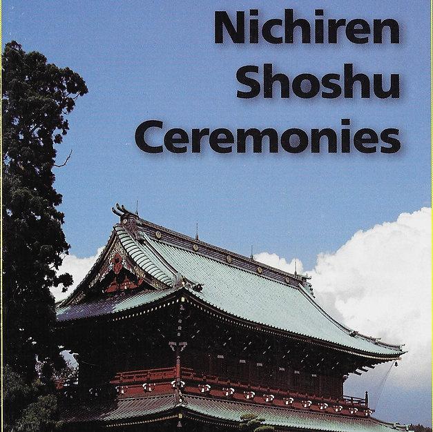 Nichiren Shoshu Ceremonies