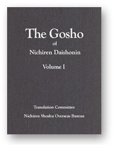 The Gosho of Nichiren Daishonin Volume I