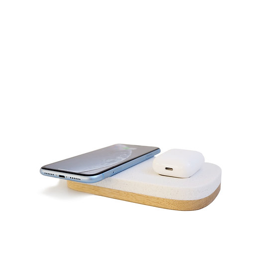 Pad. dual - wireless charger