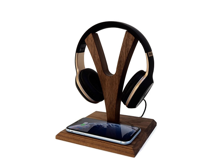 YPod - Headphone Stand & Wireless Charger