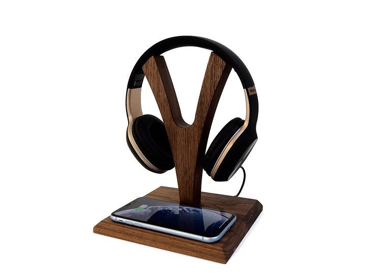 YPod - Kopfhörerständer & Wireless Charger