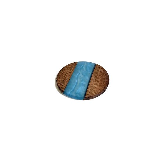 Wood & Epoxy Resin Coaster