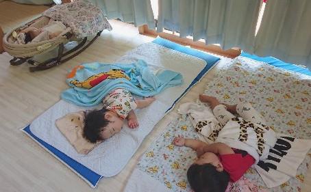 6月のぽにぃ保育園(0歳さん)