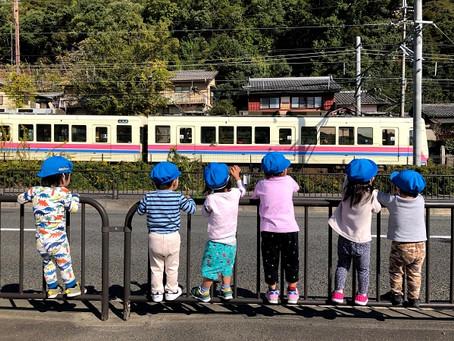 みんな電車が大好きです