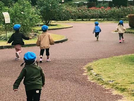 【2歳児さん】植物園までお散歩に行ってきました