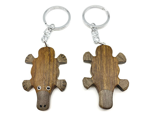 Platypus (Eco-friendly), animal keychain, koala gift, kangaroo, cockatoo