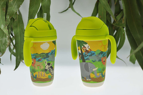 Eco-Friendly Bamboo Fibre Kids Drink Bottle