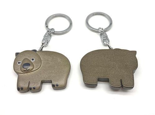 Wombat (Eco-friendly), baby wombat, wombat keyring, wombat magnet