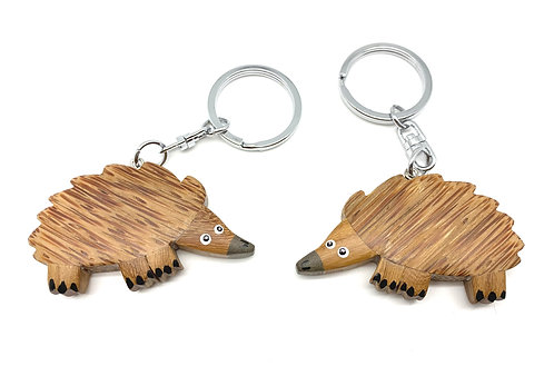 Echidna (Eco-friendly), animal keychain, koala gift, kangaroo, platypus