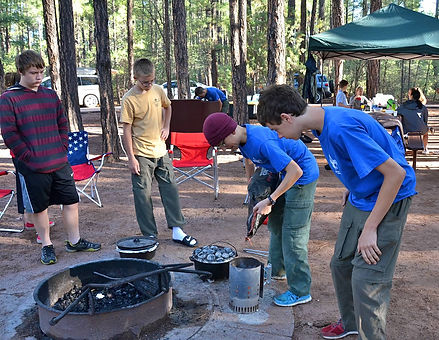 boy scouts tempe arizona-family camping trip