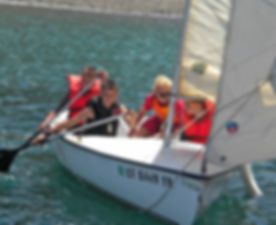 boy scouts tempe arizona-sailing at Cherry Valley