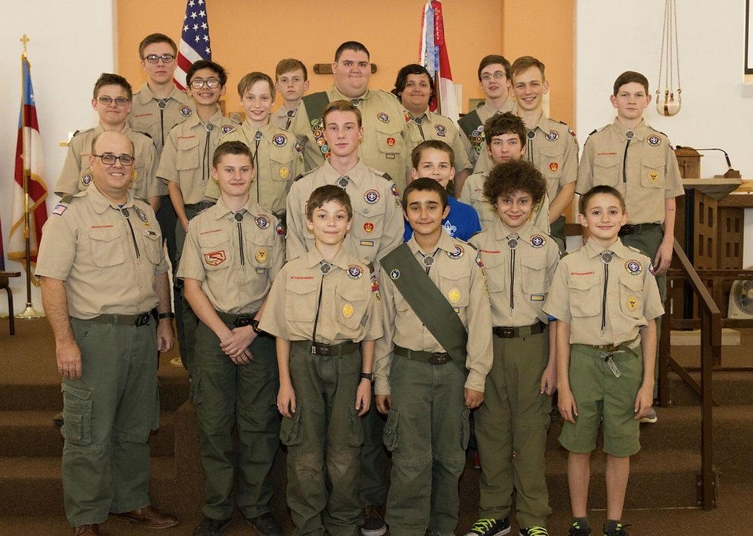 boy scouts tempe arizona: troop hike