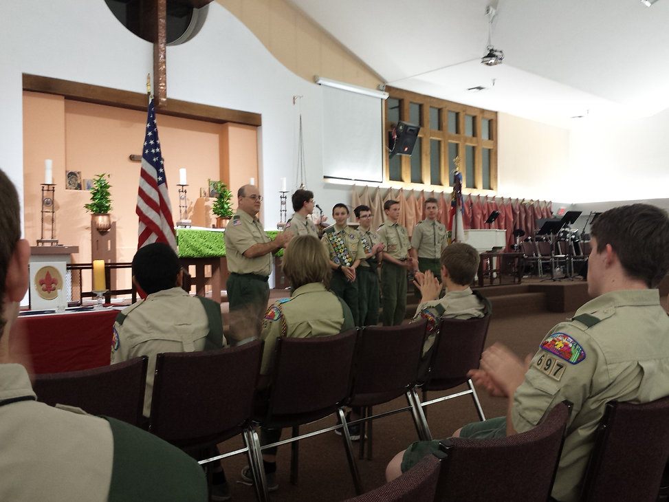boy scouts tempe arizona-court of honor