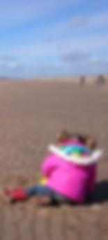 Camber beach in October!