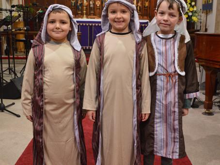 Shepherding around at Christmas