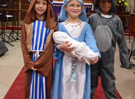 Mary, Joseph and Donkey