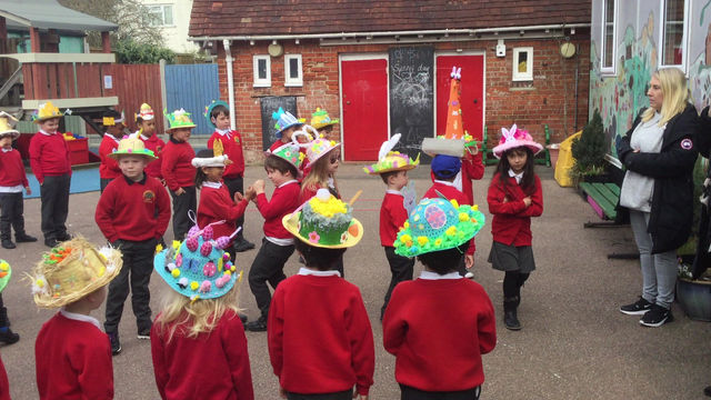 Easter Hunts and Beautiful Bonnets
