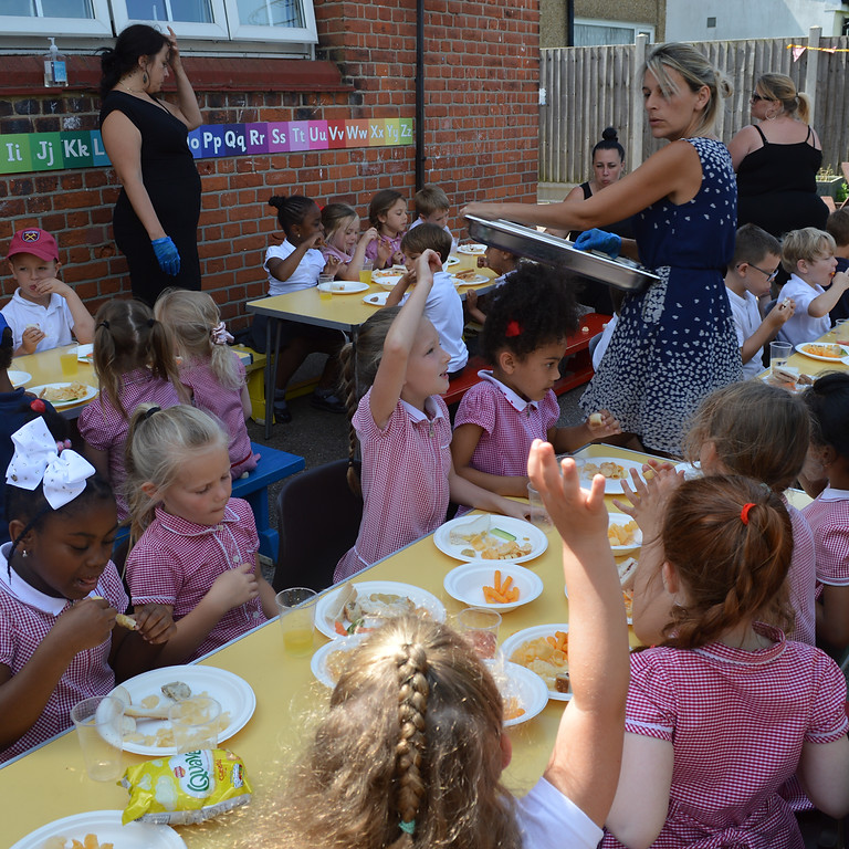 Last Day Party in the playground