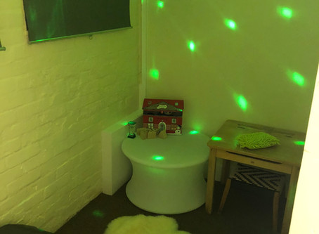 Our Chill out Sensory Room