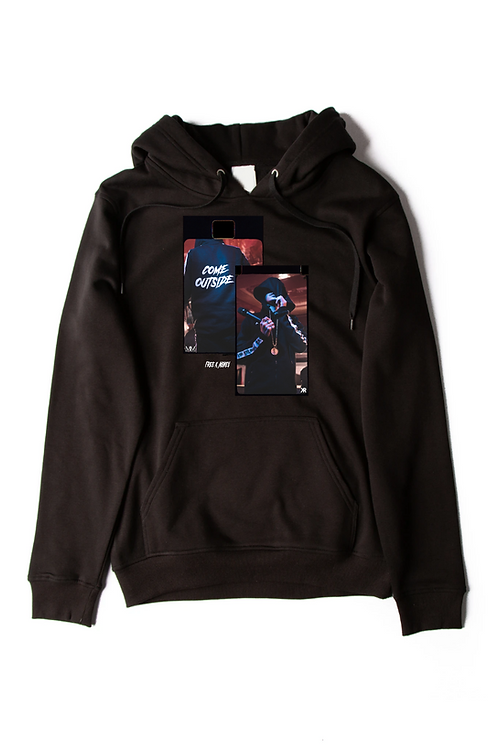 BLACK K MONEY COME OUTSIDE HOODIE