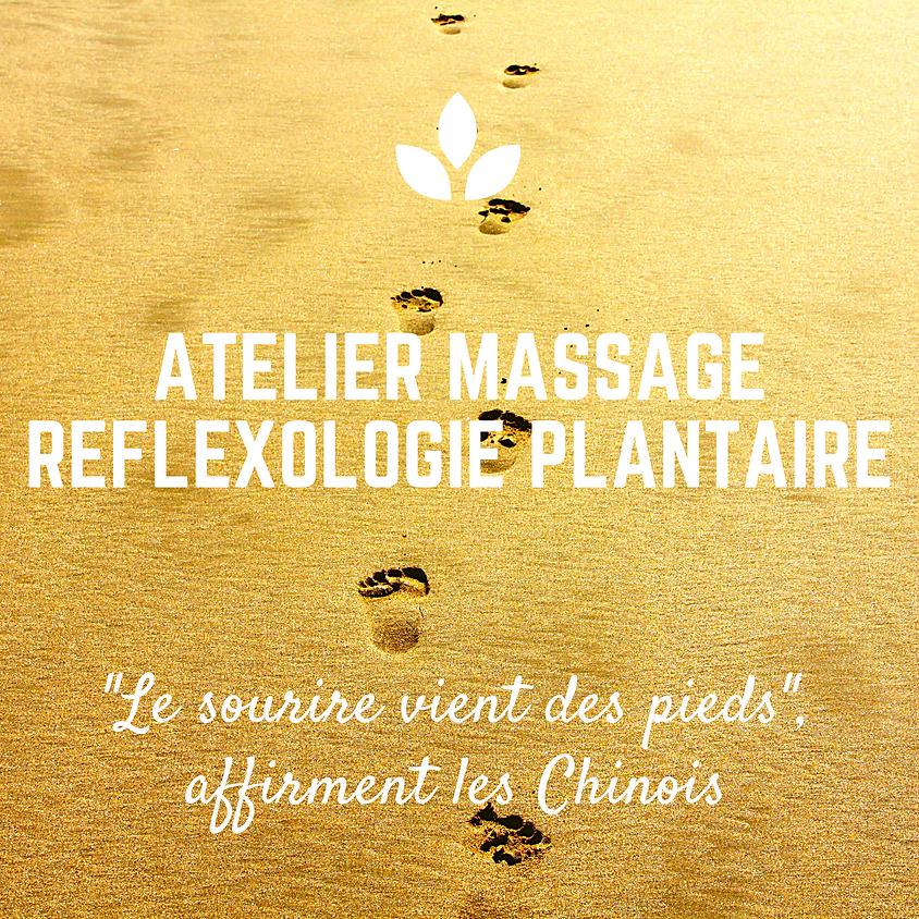 Atelier Massage-bien-être REFLEXOLOGIE PLANTAIRE