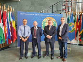 Project 54 Experts Meet with The OPCW