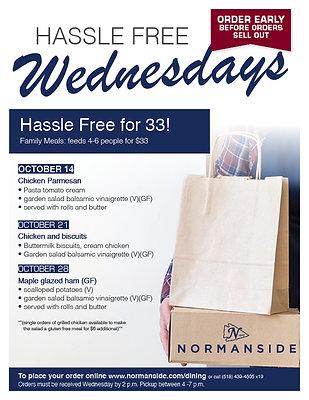 Hassle Free Wednesdays Maple Glazed Ham