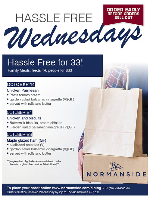 Hassle Free Wednesdays Maple Glazed Ham