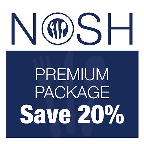 Week 2 Nosh Premium Package