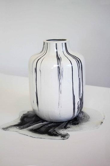 VASE BONAZZUR BLACK&WHITE