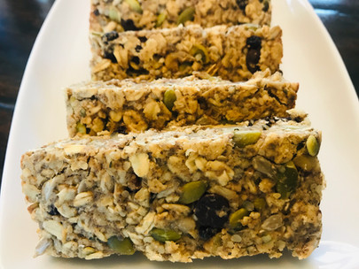 Yummy Gluten-Free Energy Bars