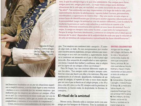 Amistad cosa de Mujeres, Revista Para Ti.