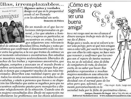 Ellas, irremplazables..., Diario del Viajero.