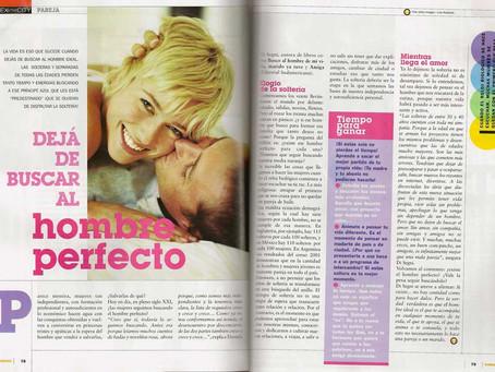 Dejá de buscar al hombre perfecto, Revista Tendencia.